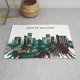 Dar es Salaam Skyline Rug