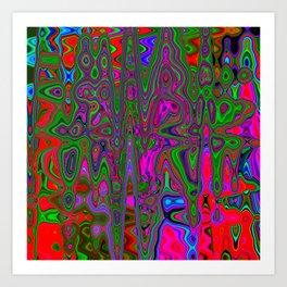 Psychedelic Happened Art Print