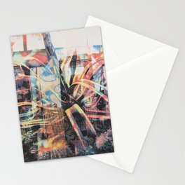 Ghost Cactus Stationery Cards