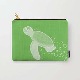 Apathetic Turtle Carry-All Pouch