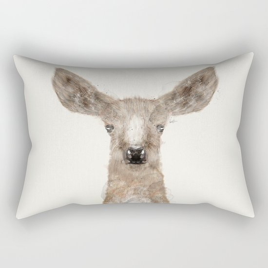 little deer fawn Rectangular Pillow