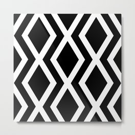 Delighted X Metal Print