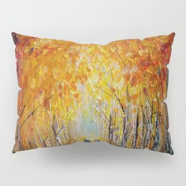 Horseback Riding in the East Coast Forest Pillow Sham