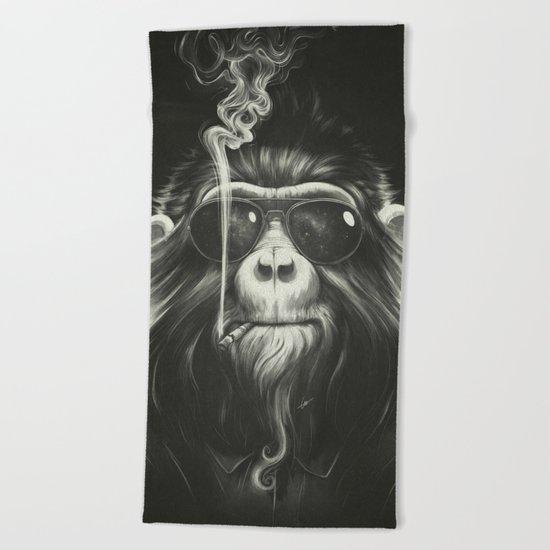 Smoke 'Em If You Got 'Em Beach Towel