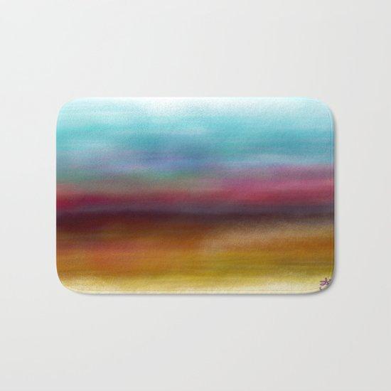 C for Colorful Bath Mat
