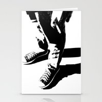 indie Stationery Cards featuring Indie Rock by alex lodermeier