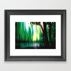 Deep in the plant world. Framed Art Print
