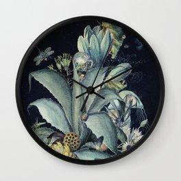 Magic Garden: Twilight I Wall Clock