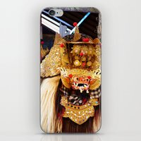 bali iPhone & iPod Skins featuring Bali Barong by Tjeerd  in 't Veen