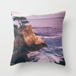 Carmel California Throw Pillow