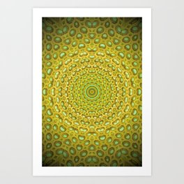 Bee House Art Print