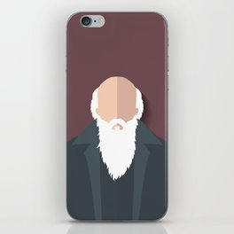 Charles Darwin iPhone Skin