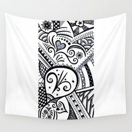 Zentangle Wall Tapestry