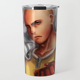 saitama from one punch man Travel Mug