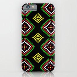 Manobo Prints III iPhone Case