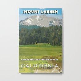 Mount Lassen Metal Print