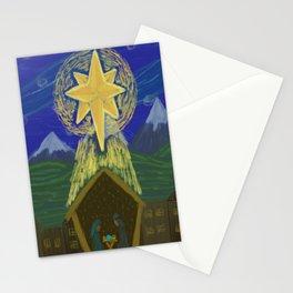 Starry Nativity Stationery Cards