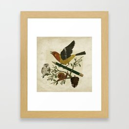 Design Reunion Series: Bird Framed Art Print