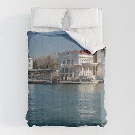 Crimea Russia Sevastopol Marinas Houses Cities Pier Berth Building Comforters