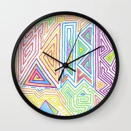 PowerLines 17 Wall Clock