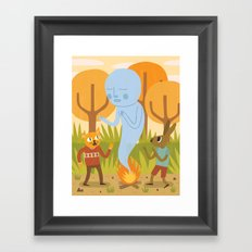 An Encounter Framed Art Print