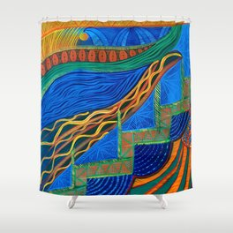 Paradise Found Shower Curtain