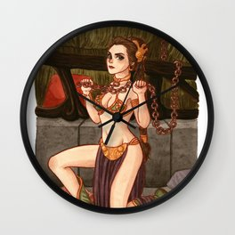 Leia - Not your slave anymore Wall Clock