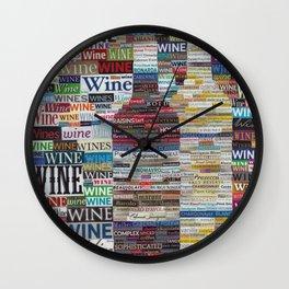 Wine Love Wall Clock