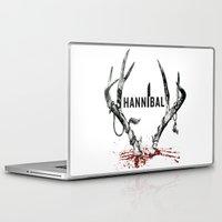 hannibal Laptop & iPad Skins featuring Hannibal  by lazergo