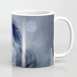 Running with the moon Coffee Mug