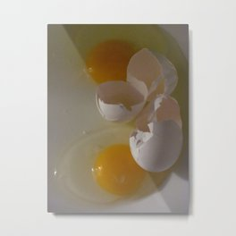 Two Eggs For Me Metal Print