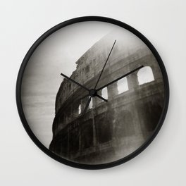 { Colosseum } Wall Clock