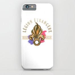 Legion Etrangère - Honneur Fidelité - Foreign Legion iPhone Case
