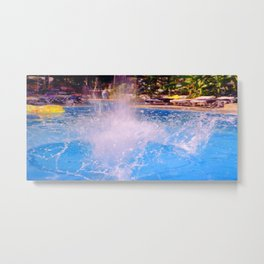 Splash 3 Metal Print