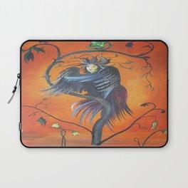 Gamaun The Prophetic Bird With Ruffled Feathers Laptop Sleeve