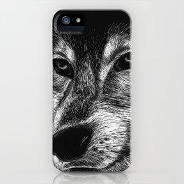 Mister Le Loup iPhone Case