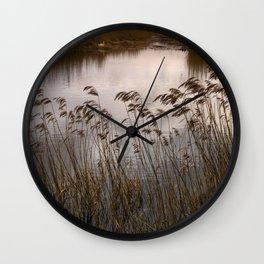 Wetlands at Far Ings Wall Clock