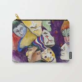 Faces Carry-All Pouch