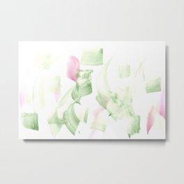 180515 Abstract WP 2 | Watercolor Brush Strokes Metal Print