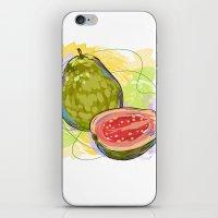 vietnam iPhone & iPod Skins featuring Vietnam Guava by Vietnam T-shirt Project