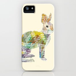 Ugly Sweater Hare iPhone Case