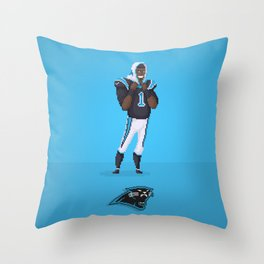 Cam Newton Throw Pillow
