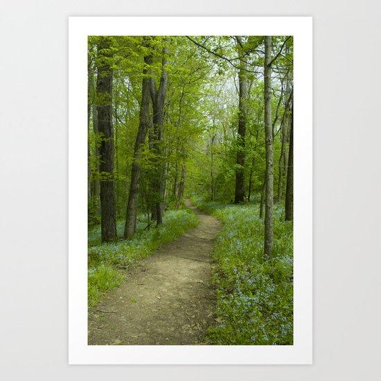 Spring V Art Print