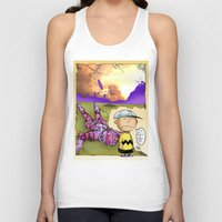 peanuts Tank Tops featuring Peanuts  by Anand Brai