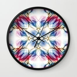 Smoke Art 129 Wall Clock