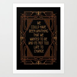 Could Have Been Anything - Bugsy Art Print