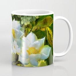 """White flowers forest"" Coffee Mug"