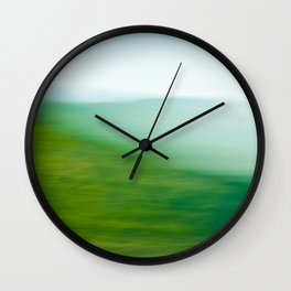 Mountains and Sea Wall Clock