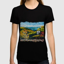 Landscape painting - Autumn dreams - by LiliFlore T-shirt