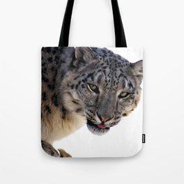 Léopard des neiges Tote Bag